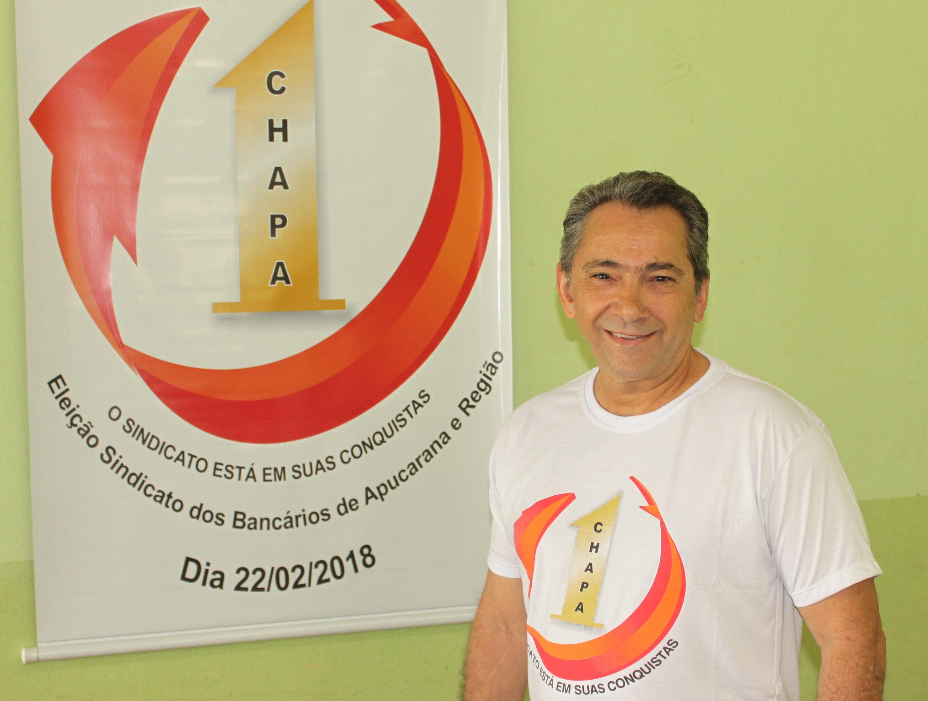 Hermes Gonçalves - Sec. Geral Itaú Apucarana
