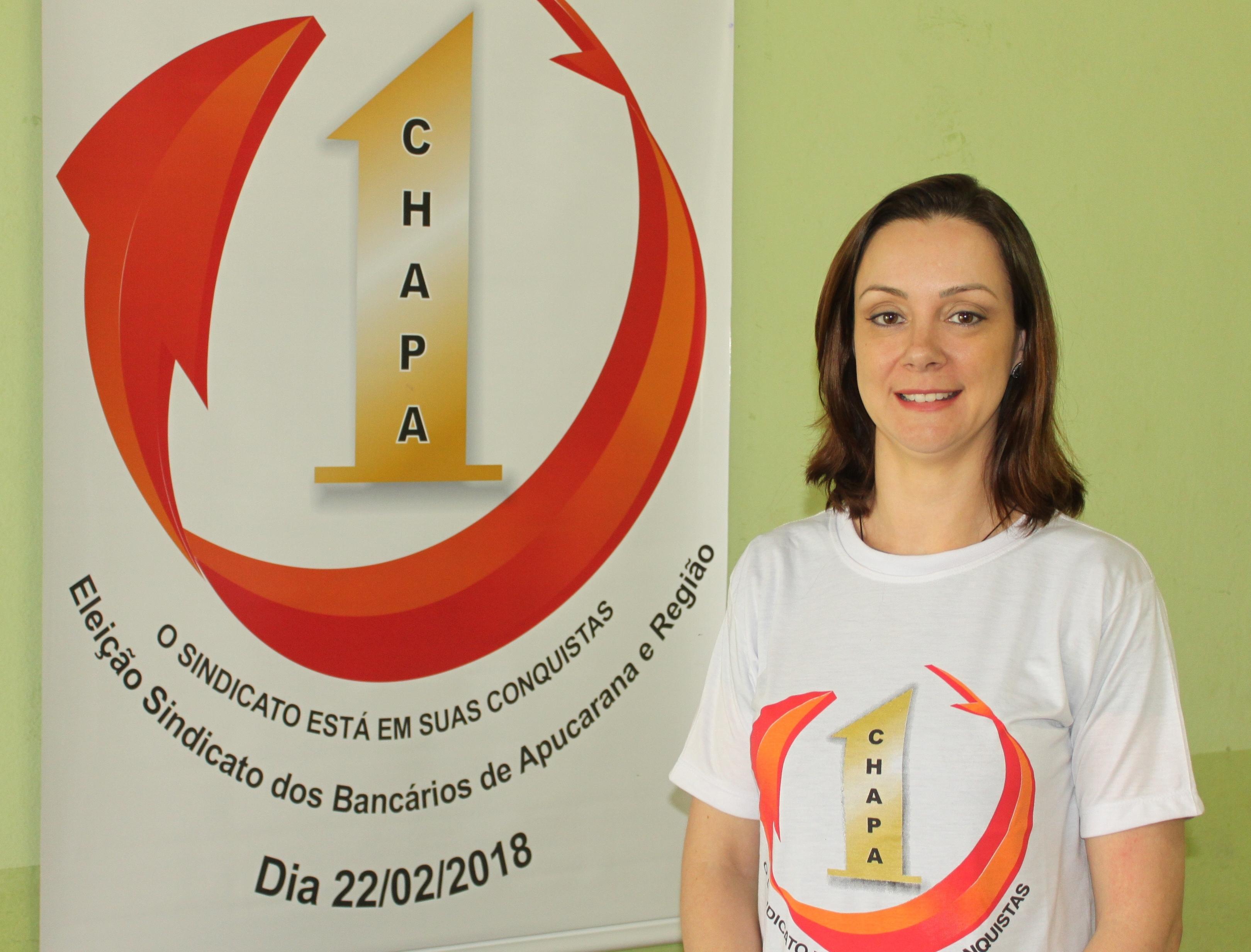 Leticia Gomes Anicete de Moraes - diretoria suplente Santander Arapongas