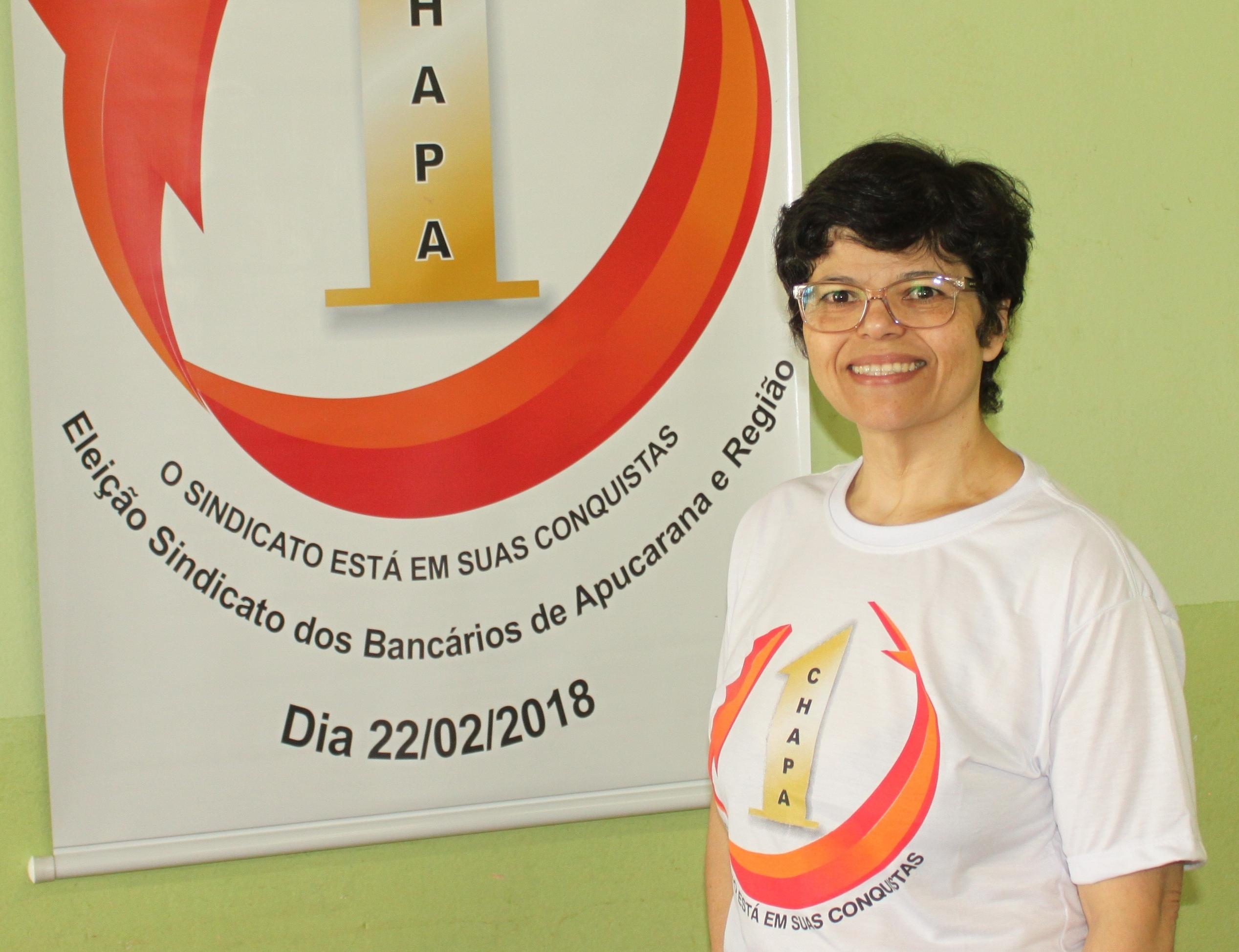Maria de Fátima dos Santos Souza - Conselho Fiscal Efetivo BB Apucarana
