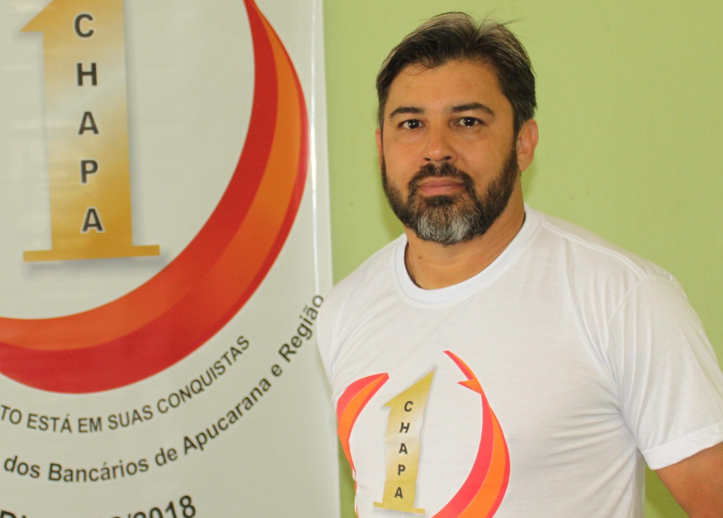 Agnaldo Ferreira Gonçalves - Sec. de finanças - Santander Apucarana